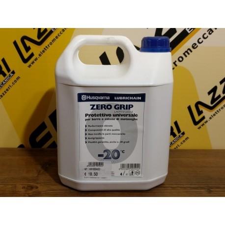 Olio Protettivo per Catena Husqvarna Zero Grip 4 Litri