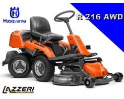Trattorino Rasaerba Rider Husqvarna R 216 AWD