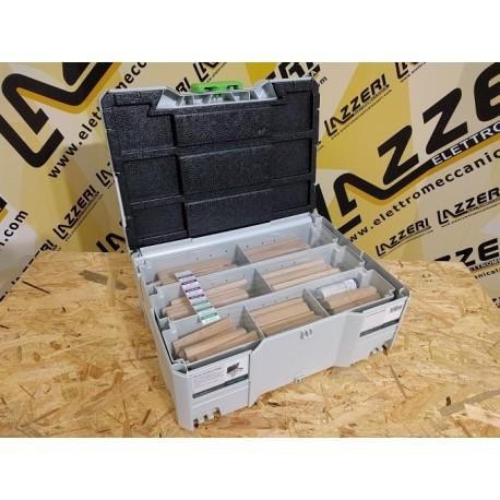Assortimento Festool Domino XL Faggio DS/XL D12/D14 128x BU