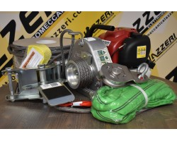 Verricello PORTABLE WINCH PCW3000 KIT Foresta