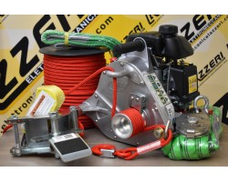 Verricello Portable Winch PCW5000 KIT Foresta