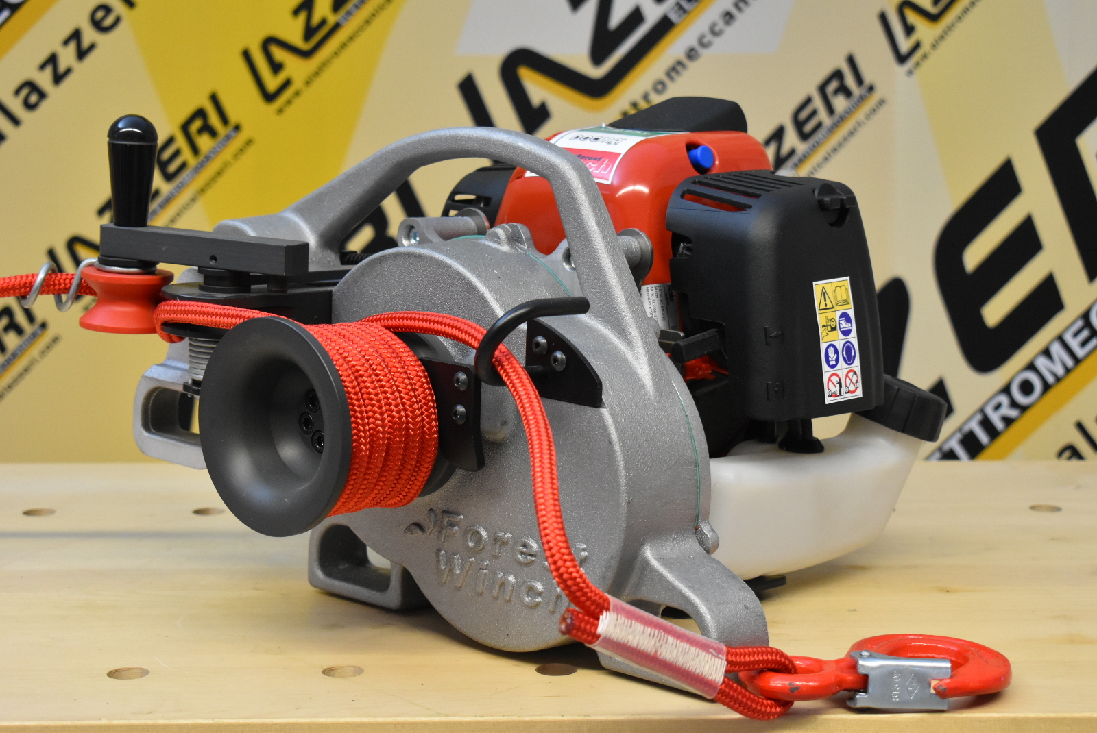 Verricello Forestale Docma Vf80 Bolt Forest Winch