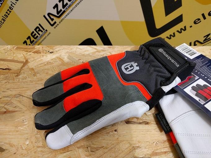 up-to-date styling pacchetto alla moda e attraente migliore vendita Guanti con Protezione Antitaglio Husqvarna Technical Taglia ...